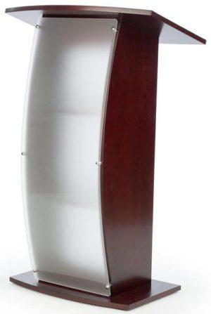 Κατασκευές Plexiglas αι ξυλο stand podium