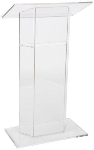 Κατασκευές Plexiglas stand podium