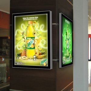 frameless led lightbox slim