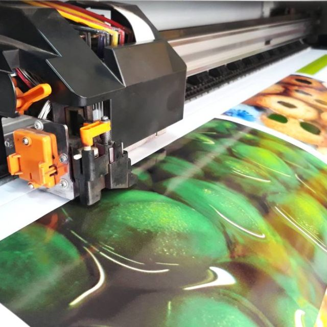 Printing on tarpaulin