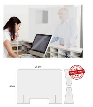 plexiglass προστασιας για ταμειο